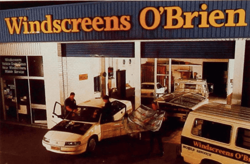 Archive image of O'Brien workshop