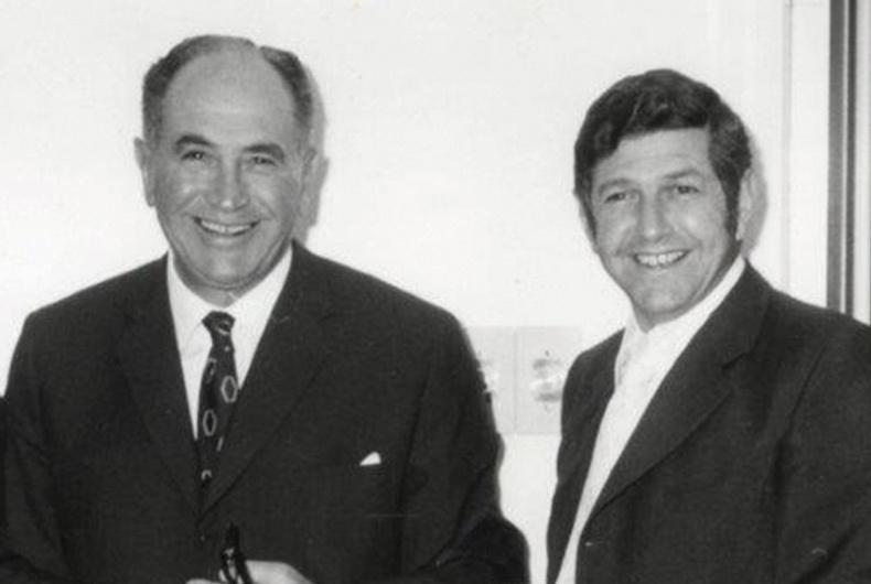 Archive image of Morrie Lubner & Paul Markiles