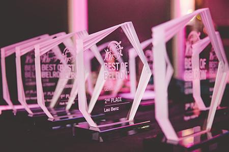 Best of Belron trophies